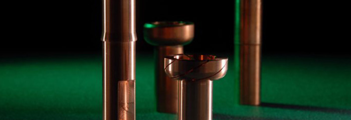 copper machining