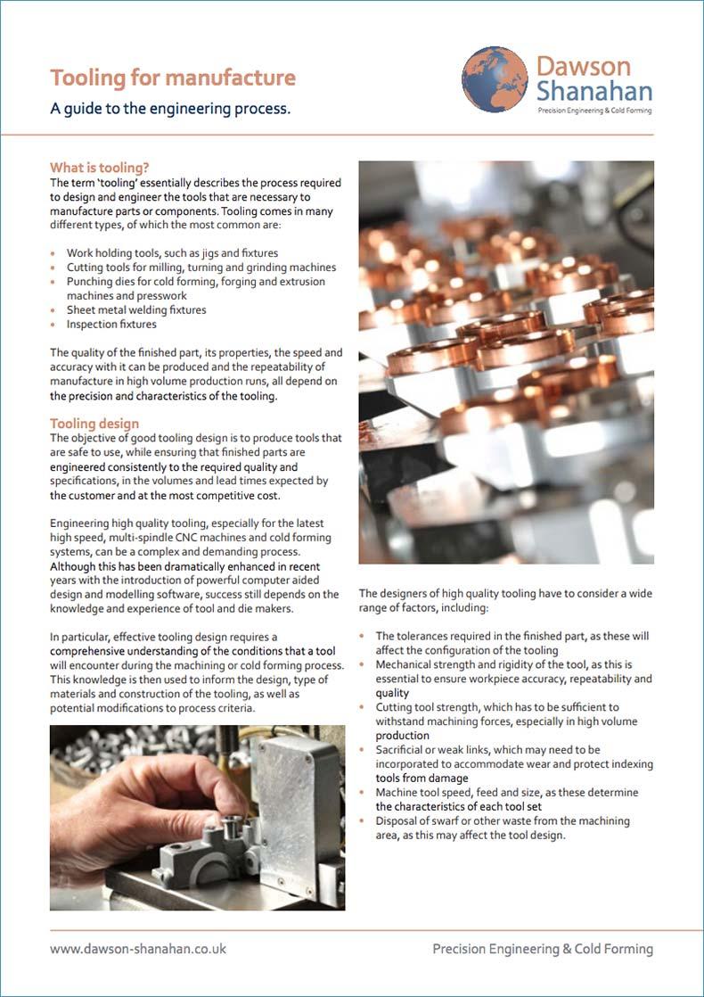 Downloads - Dawson Shanahan | Cold Forming & CNC Machining
